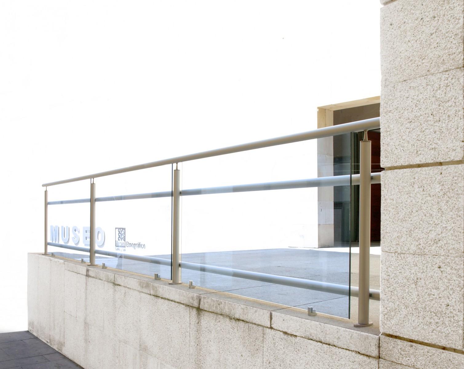 Balcones de hierro barandillas rejas de hierro - Barandilla de aluminio ...