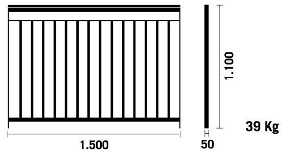 Balcones de hierro barandillas rejas de hierro - Barandillas exterior leroy merlin ...
