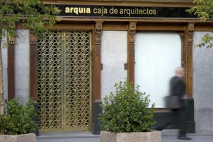 Balcon en acier garde corps grille en acier - Caja arquitectos madrid ...